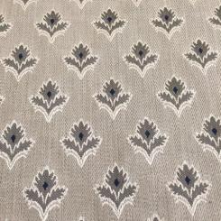 8 1/4 Yards Diamond Floral  Woven  Fabric