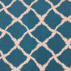 7 1/2 Yards Diamond Geometric  Print  Fabric