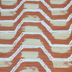 4 Yards Abstract Geometric  Woven  Fabric