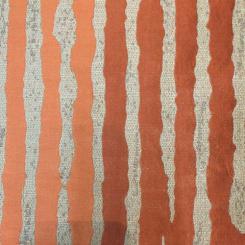 13 1/4 Yards Novelty Stripe  Sheer  Fabric