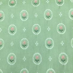 9 1/2 Yards Floral Polka Dots  Woven  Fabric