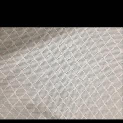 3 1/2 Yards Diamond  Woven  Fabric