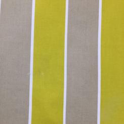 4 Yards Stripe  Basket Weave Print  Fabric