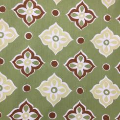 12 Yards Geometric Nature  Print  Fabric