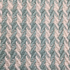 1 1/2 Yards Houndstooth Polka Dots  Woven  Fabric