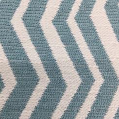 3 1/2 Yards Chevron  Woven  Fabric