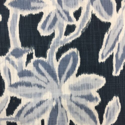 2 3/4 Yards Abstract Floral  Print  Fabric