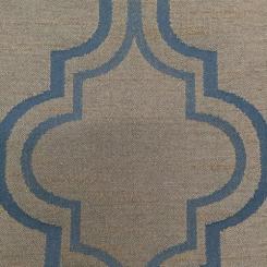 3 Yards Geometric  Sheer  Fabric