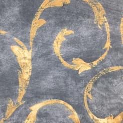3 Yards Damask  Print  Fabric