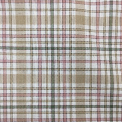 4 Yards Plaid/Check  Woven  Fabric