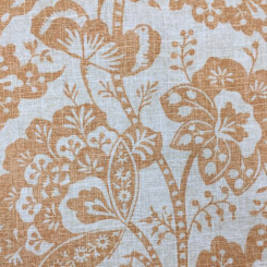 2 3/4 Yards Floral  Print  Fabric