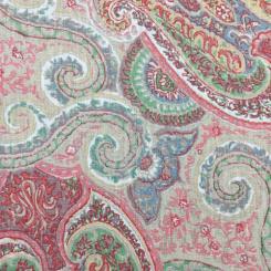 1 1/4 Yards Paisley  Print  Fabric
