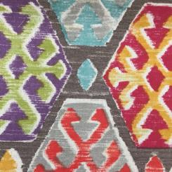 1 1/2 Yards Diamond Geometric  Print  Fabric