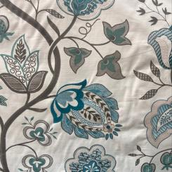 Fabricut Ballad Floral Teal (H)