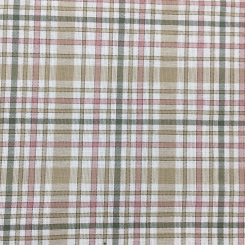 1 1/2 Yards Geometric Plaid/Check  Woven  Fabric