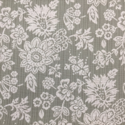 2 3/4 Yards Floral  Woven  Fabric