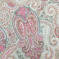 1 1/2 Yards Paisley  Print  Fabric