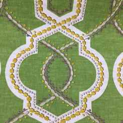 7 3/4 Yards Geometric  Print  Fabric