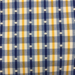 6 1/2 Yards Polka Dots Stripe  Embroidered Woven  Fabric