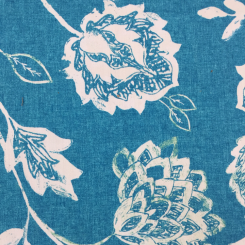 6 1/2 Yards Floral  Print  Fabric