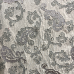 RL Beautiful Embroidered Fabric (H)
