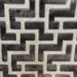 Geometric Key Cut Velvet (H)
