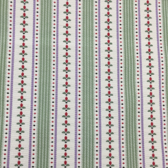 4 Yards Floral Polka Dots  Woven  Fabric