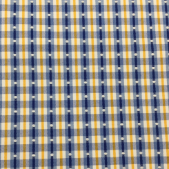 5 1/2 Yards Plaid/Check Polka Dots  Embroidered Woven  Fabric