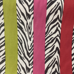 Cotton Animal Stripe (H)