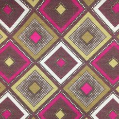8 1/4 Yards Diamond Plaid/Check  Print  Fabric