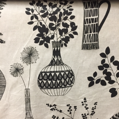 Black and White Novelty Print (A)