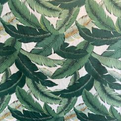 Linen Palm Frawn Fabric (H)