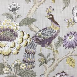 6 1/4 Yards Animal Floral  Print  Fabric