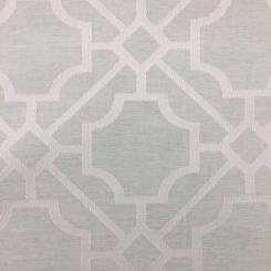 6 1/2 Yards Diamond Geometric  Embroidered  Fabric