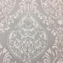 2 Yards Damask  Print  Fabric