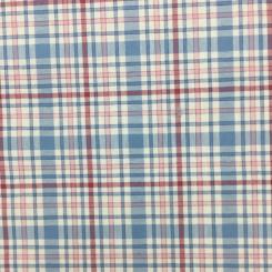 8 Yards Plaid/Check  Print  Fabric