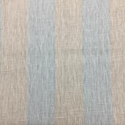 1 1/4 Yards Stripe Traditional  Print  Fabric