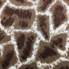 6 Yards Animal  Velvet  Fabric