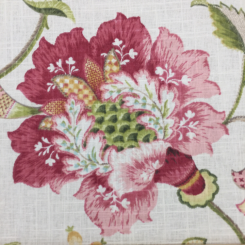 6 1/2 Yards Floral Traditional  Print  Fabric