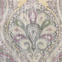 7 Yards Paisley Traditional  Print  Fabric