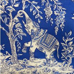 Clarence House lle Des Elephants Cobalt (H)