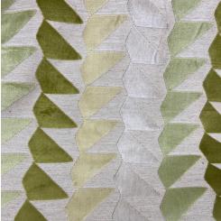 Geometric Cut Velvet (H)
