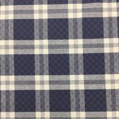2 Yards Plaid/Check  Matelasse  Fabric