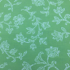 1 1/2 Yards Floral Traditional  Matelasse  Fabric