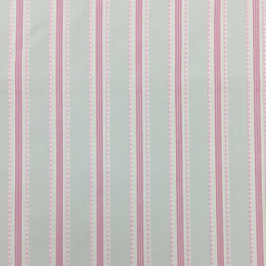 7 1/2 Yards Stripe Traditional  Ribbed  Fabric
