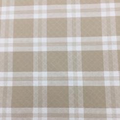 1 Yard Plaid/Check Traditional  Matelasse  Fabric