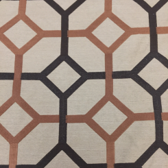 8 Yards Geometric  Embroidered  Fabric
