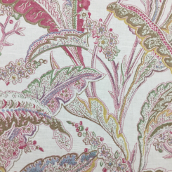 9 Yards Floral Traditional  Print  Fabric