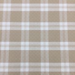 4 Yards Plaid/Check  Matelasse  Fabric