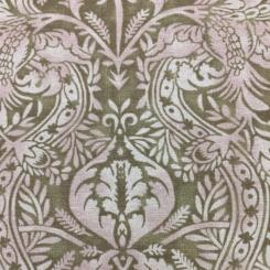 9 Yards Damask  Print  Fabric